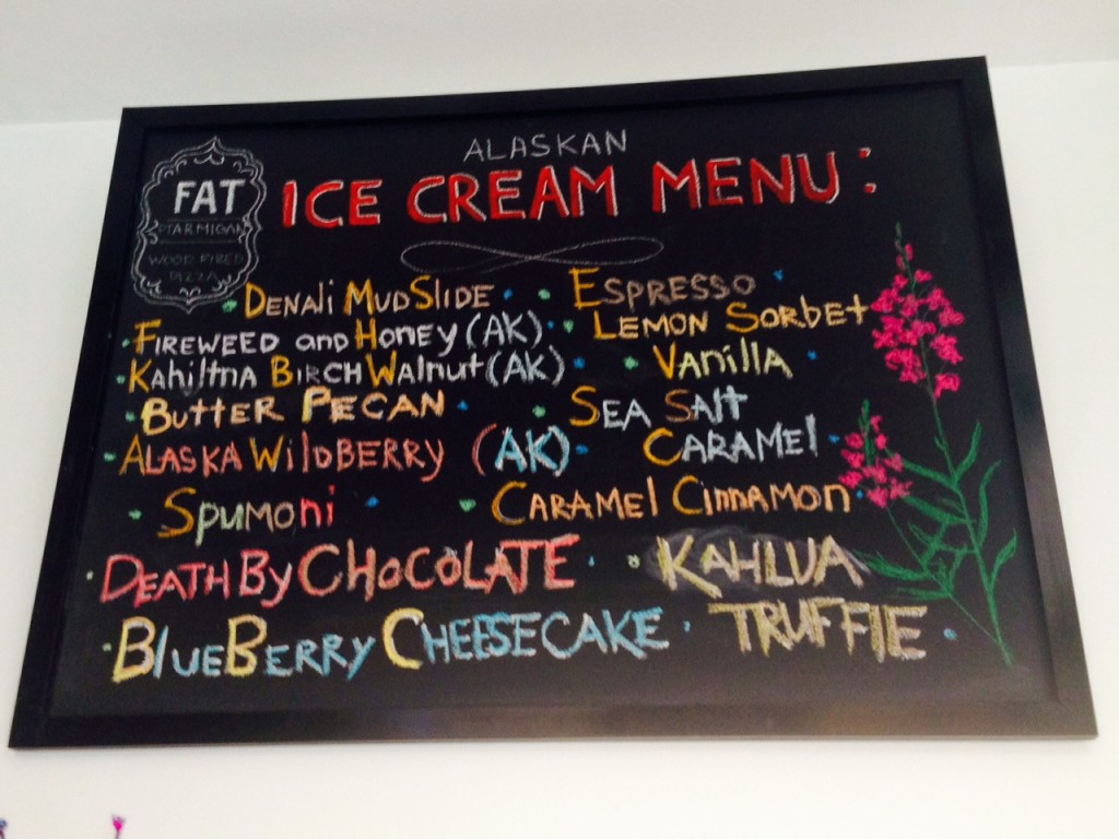 Fat Ptarmigan Ice Cream